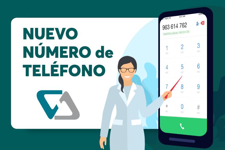 Nuevo teléfono de TEMÁTICA software